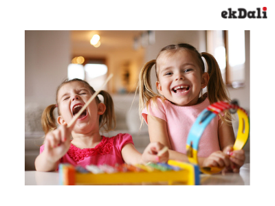 Creativity development exercises for toddlers