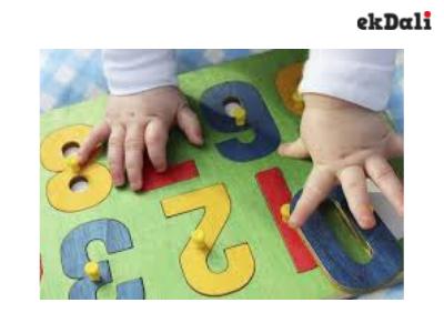 Numeracy development exercises for kids