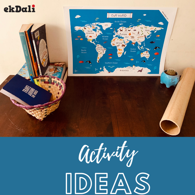 Activity Ideas - Our world