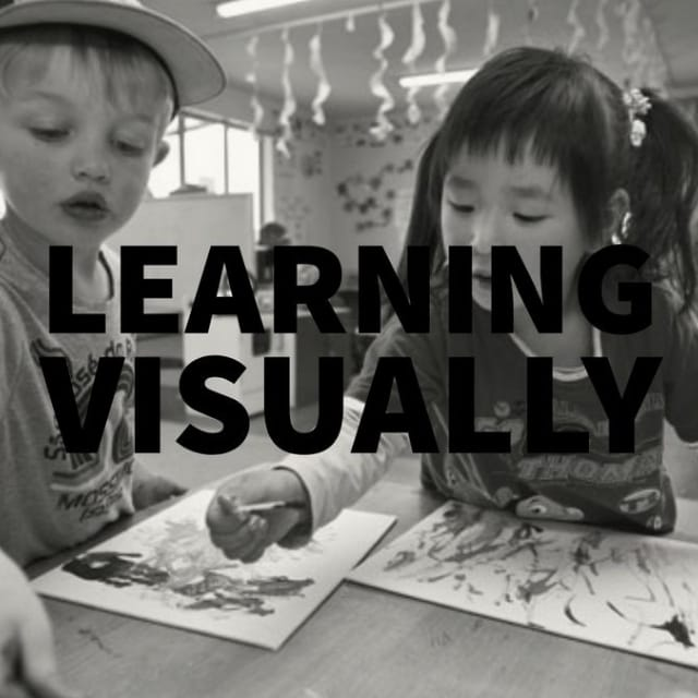 Visual aids are a key communication tool for autistic children