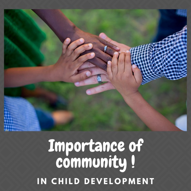 Importance of community in child development