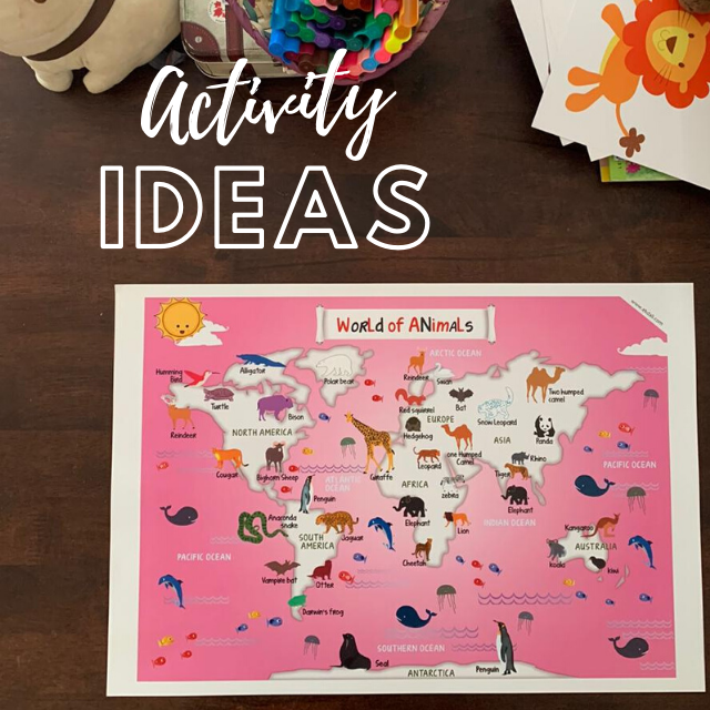 Activity Ideas - World of Animals