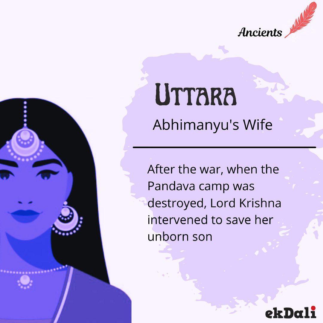 Ancients - Uttara (Abhimanyu's wife)