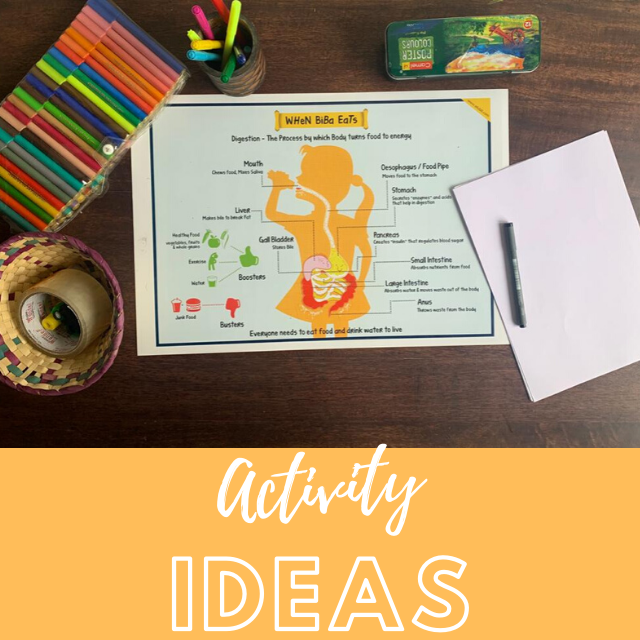 Activity Ideas - When Biba Eats