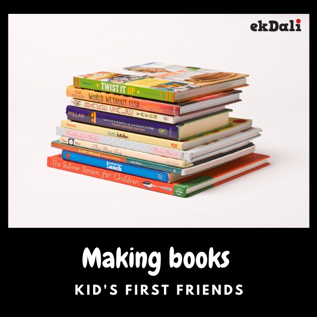 Make books your children's first friends