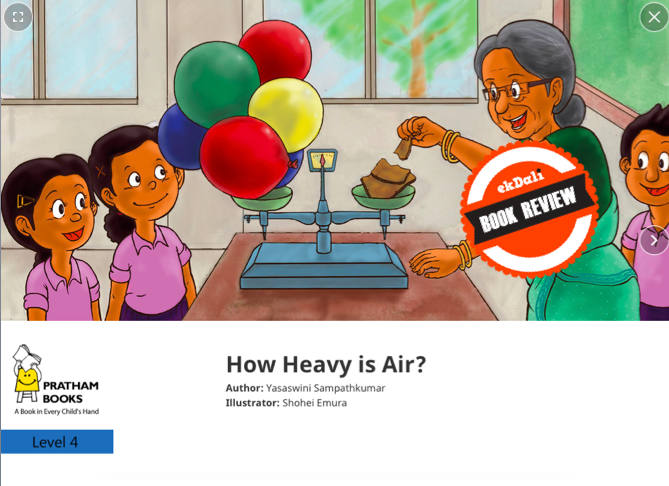 Book Review: How Heavy is Air?