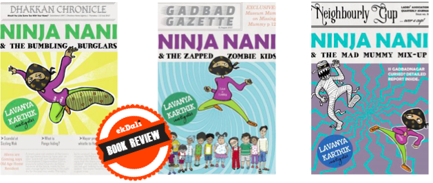 Book Review: Ninja Nani Series