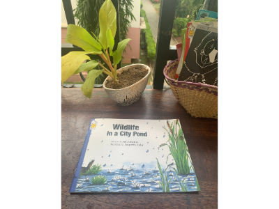 Book for Early Learning: Wild Life in a City Pond