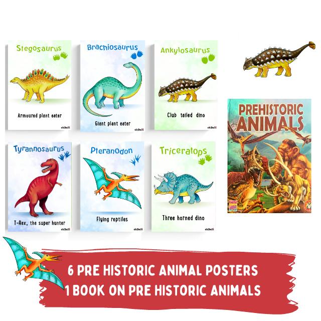 Pre Historic Animal Book