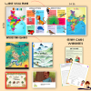 India Book Box (Books, Wallbook, Worksheets and more)
