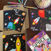 Ekdali Space Themed Bok for Kids